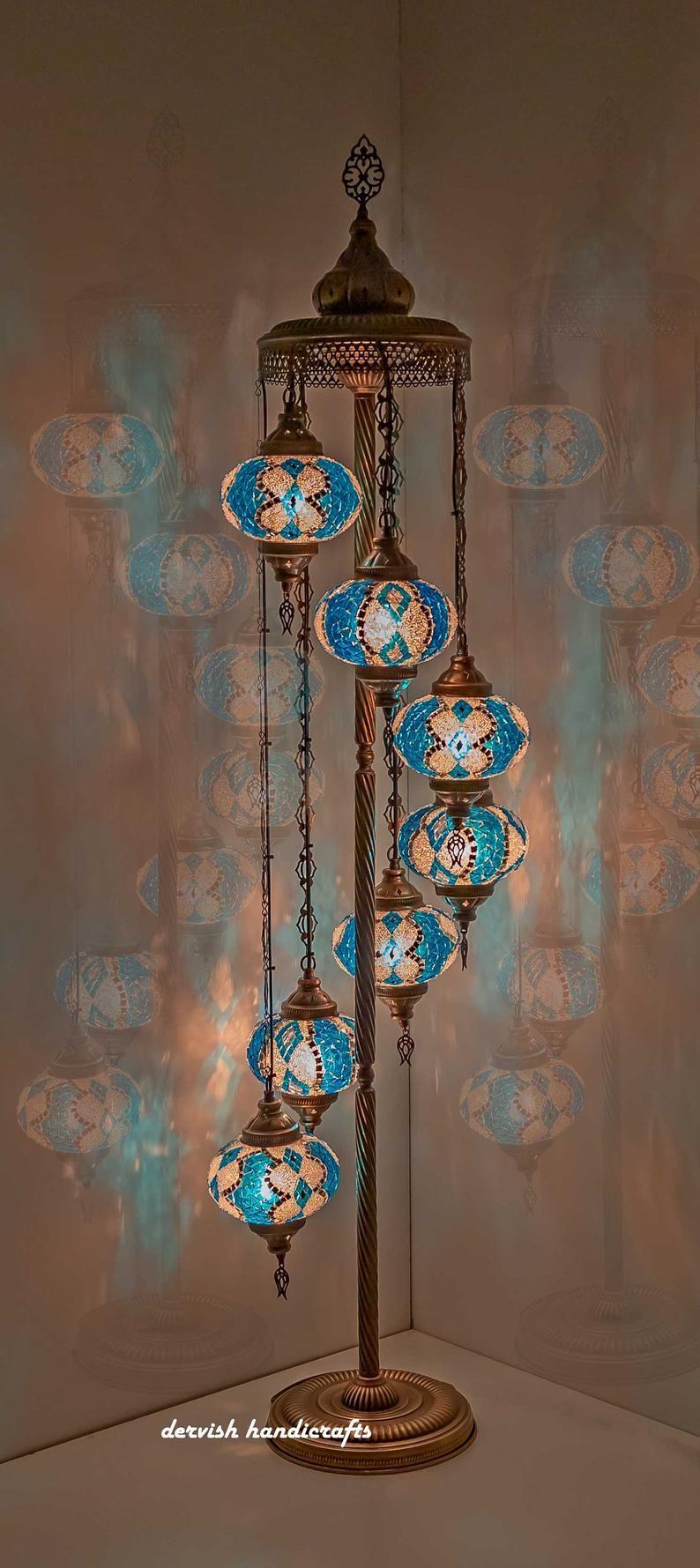 Floor Lamp Shade Turkish Lamp Customizable Lamp Moroccan