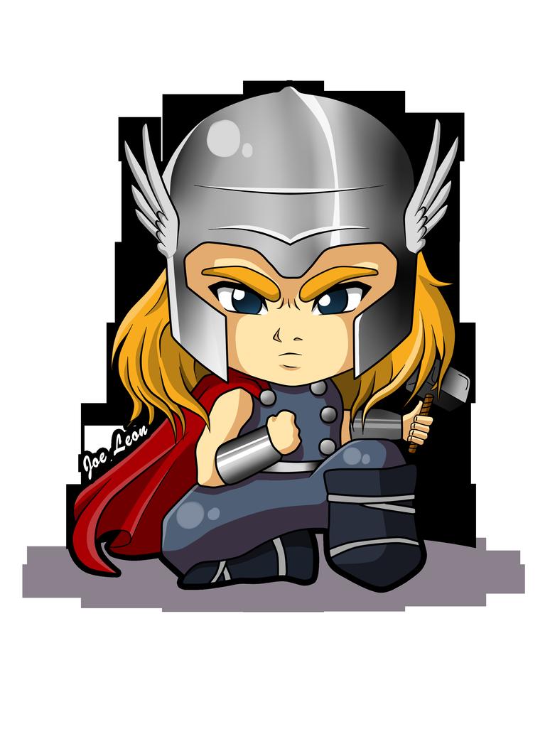 Thor By Joeleon Vingadores Bebe Super Herois Infantil Desenho Thor