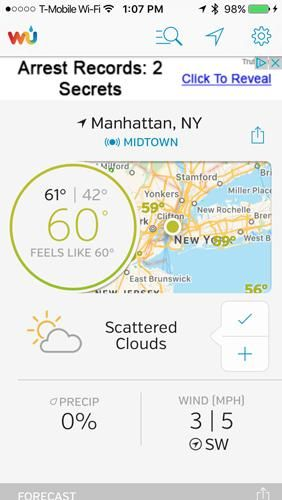 The 100 Best iPhone Apps for 2020 Weather underground