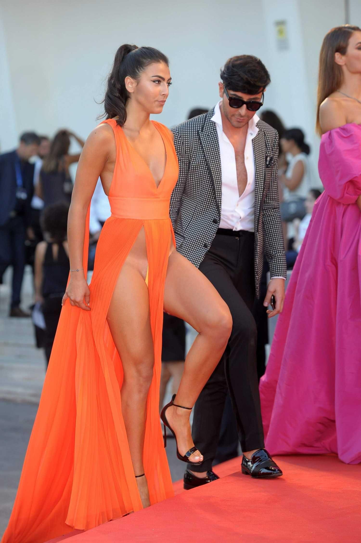 fancy dress upskirt Giulia-Salemi-Upskirt-at-Brimstone-Premiere-9.jpg (