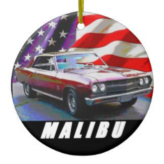 1965 Malibu Ceramic Ornament