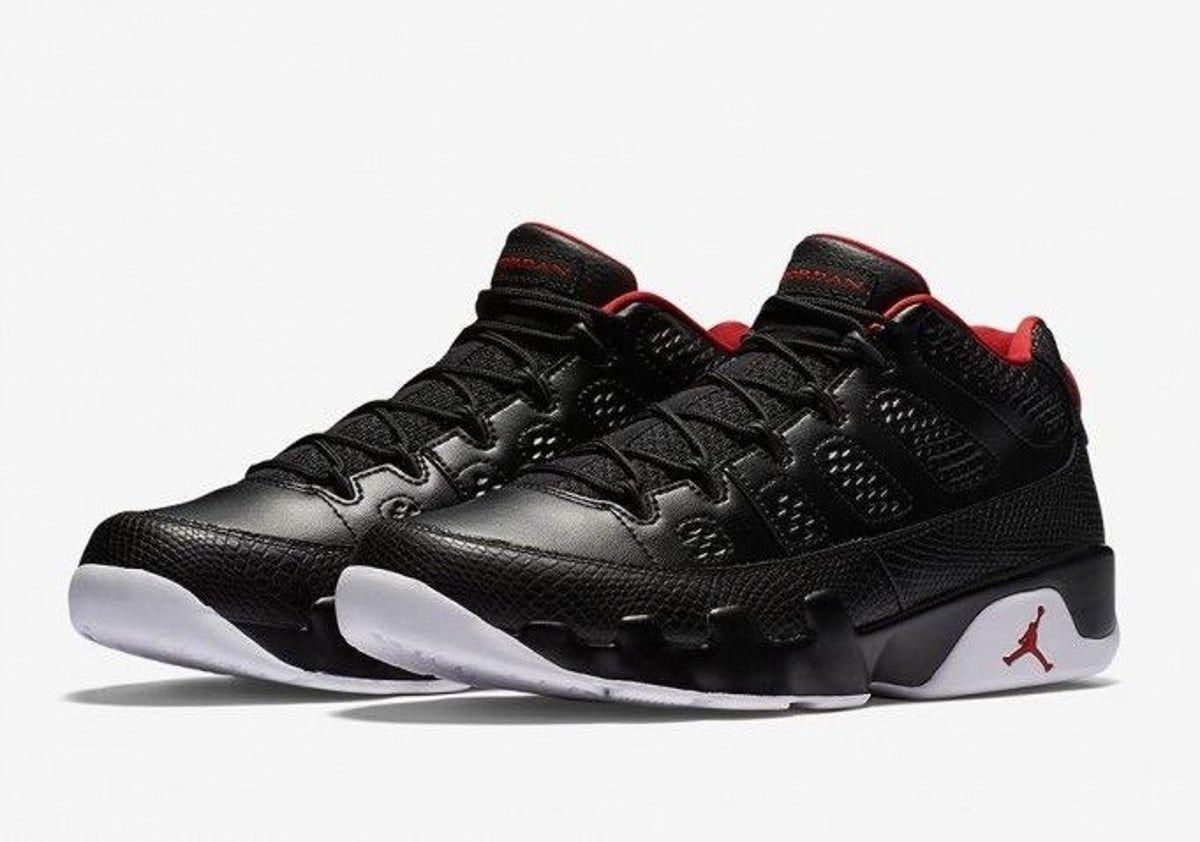 Air Jordan Retro 9 Bred Low Size 8.5 in