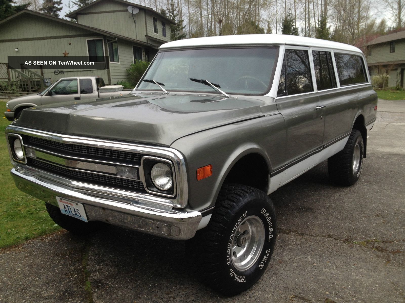 1970 Chevy Pickup Lifted 1970 Chevy Suburban Truck 4x4 350