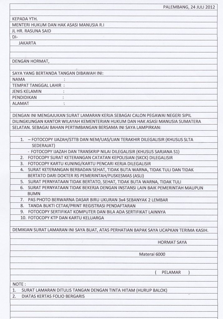 Contoh Proposal Di Kertas Folio Ilmusosial Id