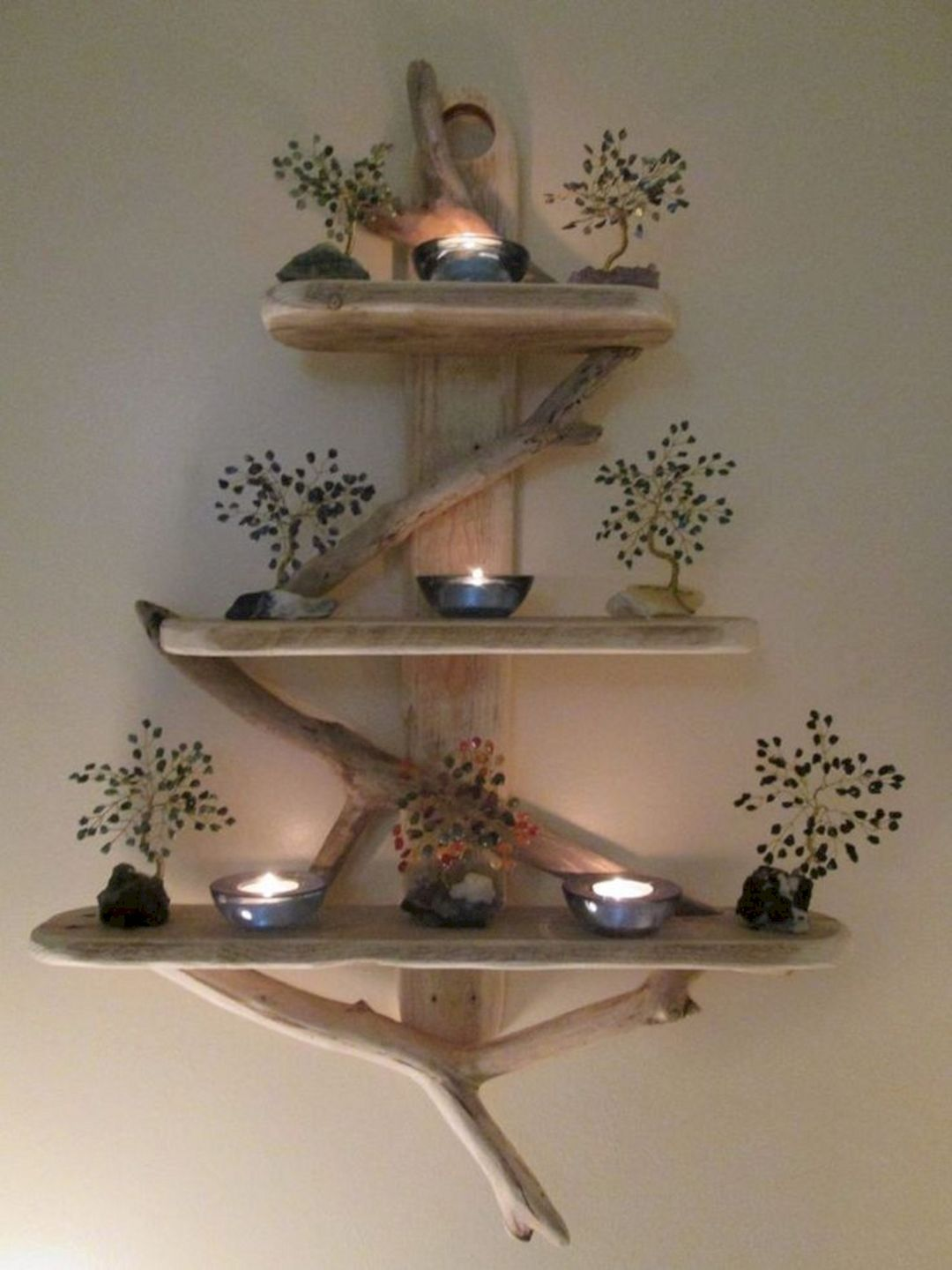 15 unique diy rustic wall shelf ideas for awesome home