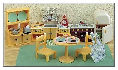Superbe Calico Critters Kozy Kitchen Set