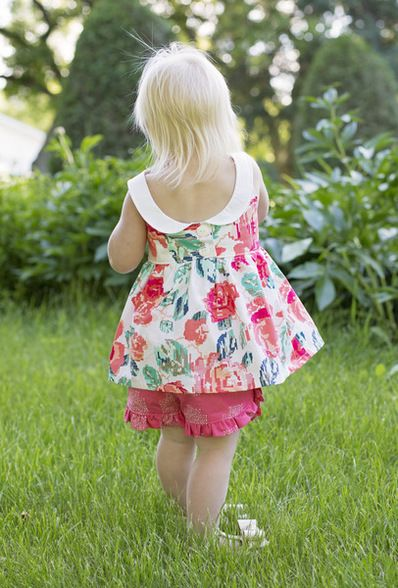 Beautiful, easy and modern child sewing PDF patterns   Baby Dress ...