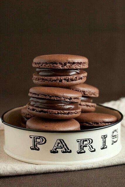 Imagem de chocolate, paris, and food