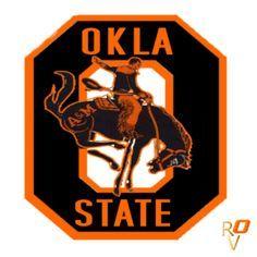 Bucking Horse Osu Oklahoma State Football Oklahoma State Cowboys