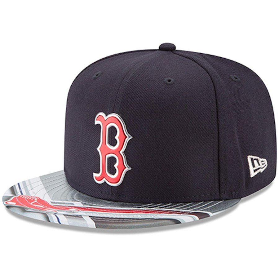 the best attitude 3b151 c8239 Men s Boston Red Sox New Era Navy Gray 9FIFTY Topps Collaboration Snapback  Adjustable Hat, Your Price   33.99