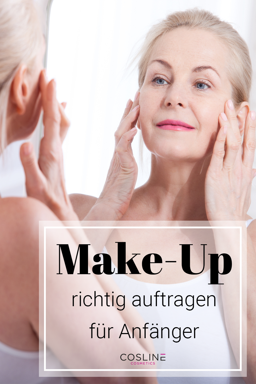 Make-Up richtig auftragen für Anfänger