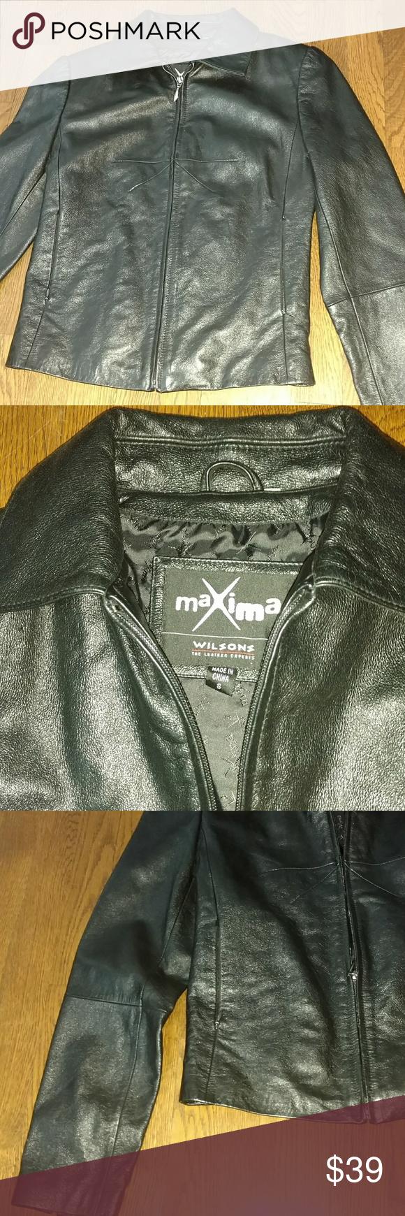 Wilsons maxima leather jacket Leather jacket, Wilsons