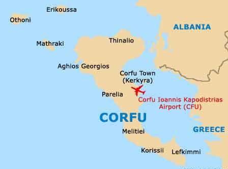 Corfu Beaches on the Ionian Sea Corfu Corfu greece and Beach