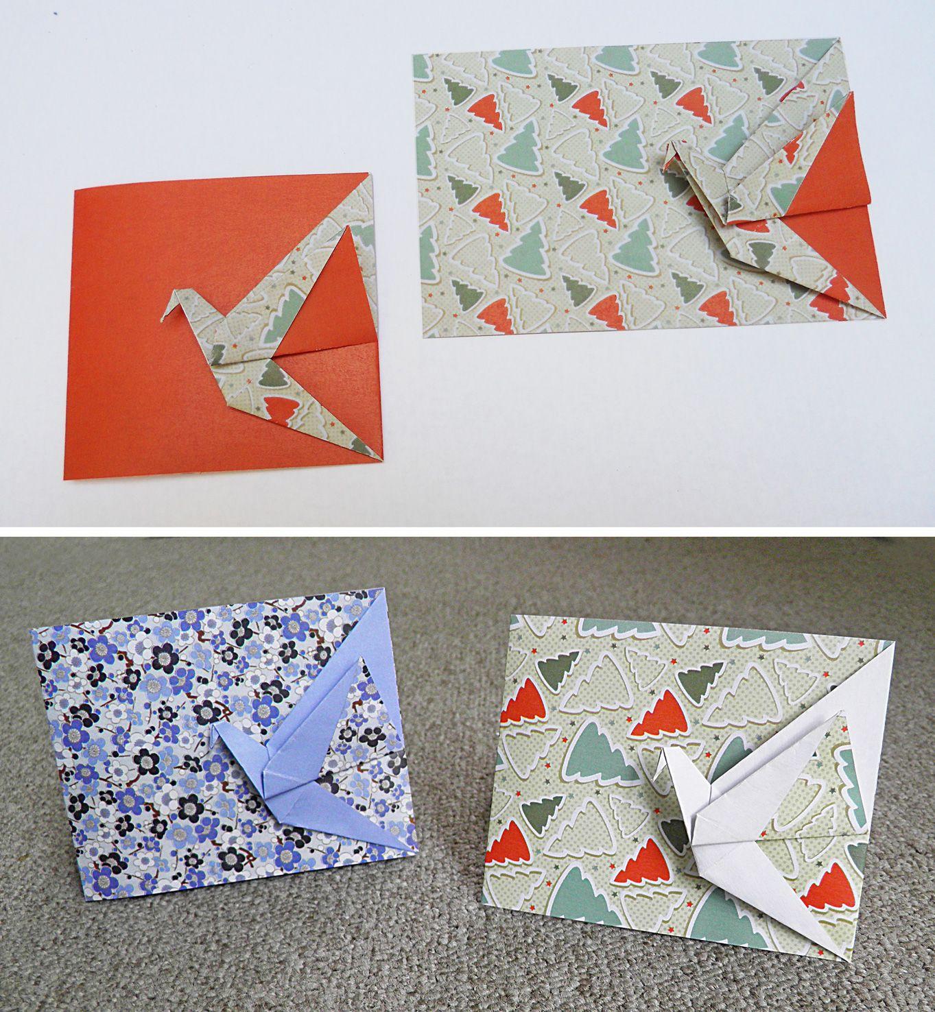 Оригами в открытках