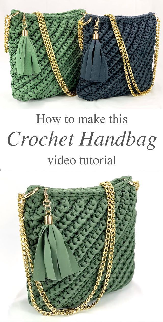 Amazing Crochet Bag You Should Make | CrochetBeja