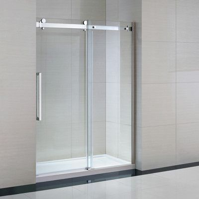 Sierra 60 X 82 Rectangle Sliding Shower Enclosure With Base