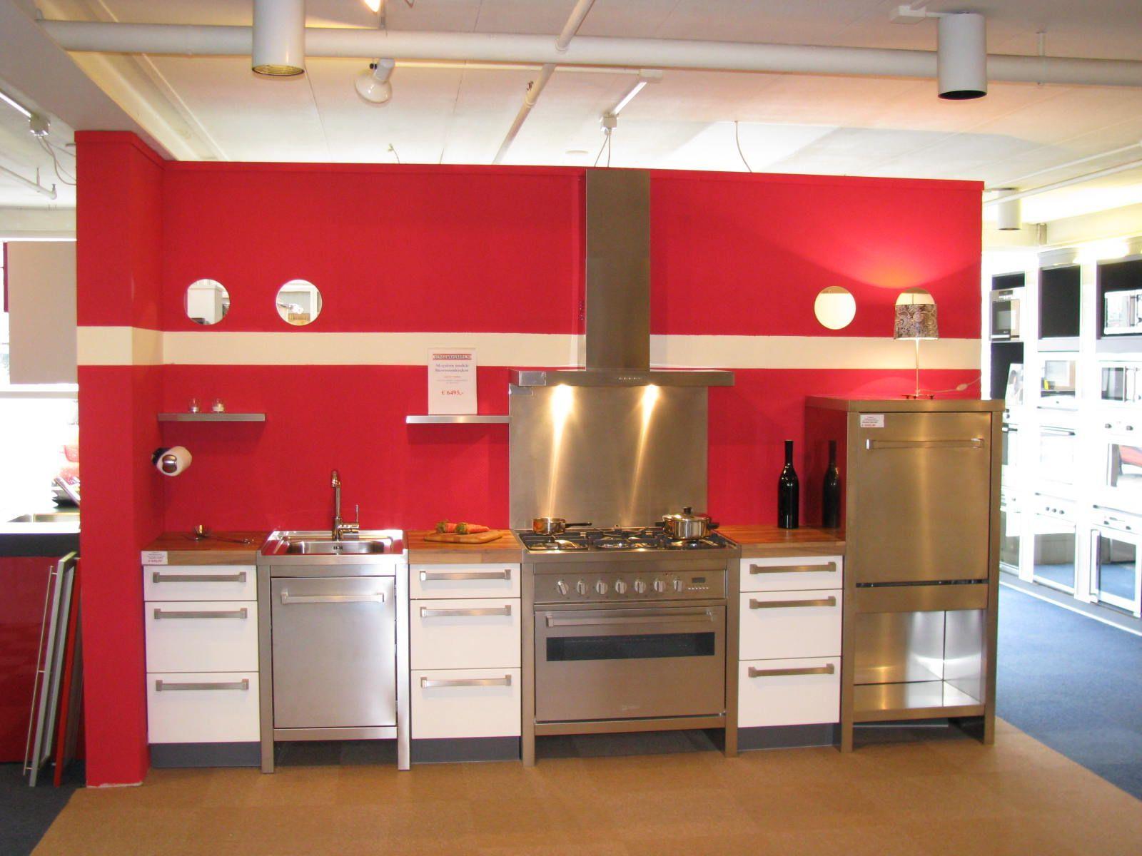 Keuken rood grijs google search kitchen good idea to use
