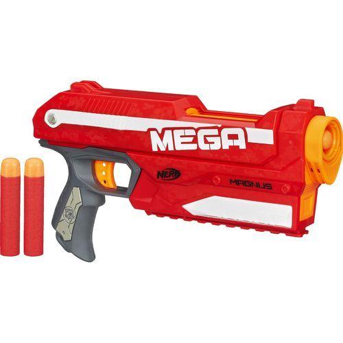Nerf N-Strike Elite Mega Magnus Blaster Red/White/Gray - Outdoor Games