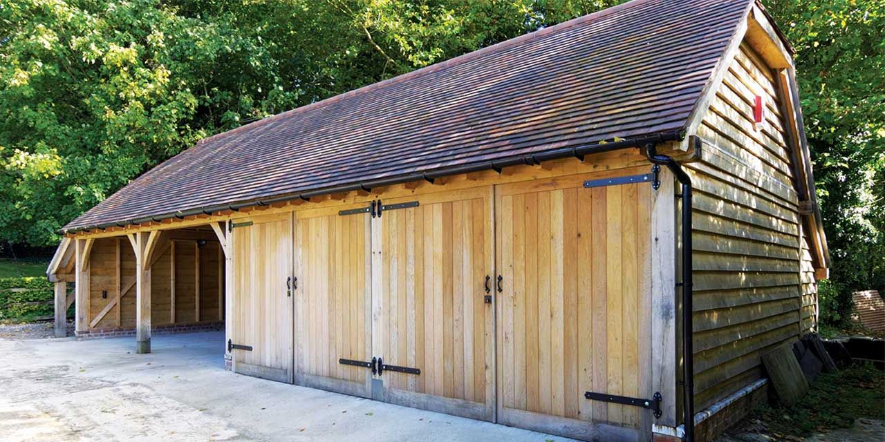 Image result for traditional leanto garages uk in 2019