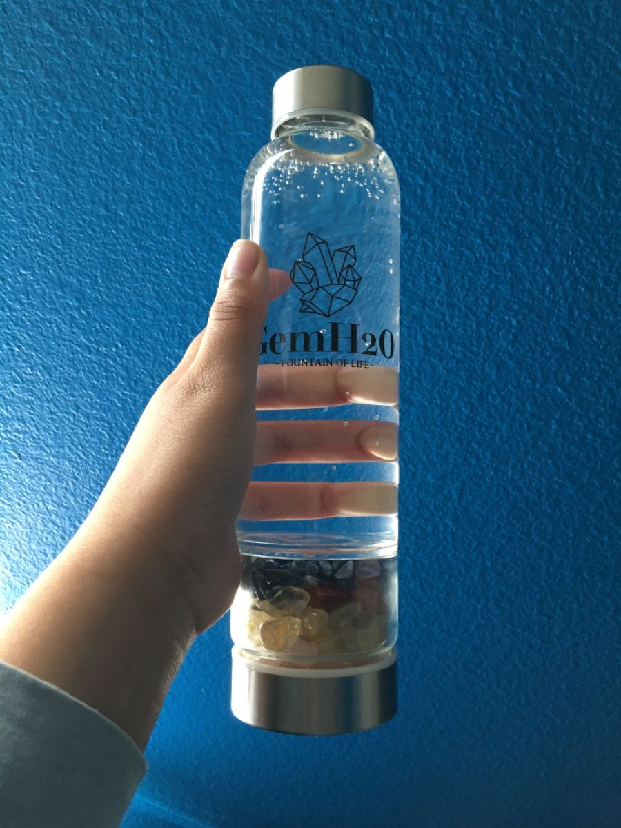 Crystal water dasani bottle charge crystals crystals
