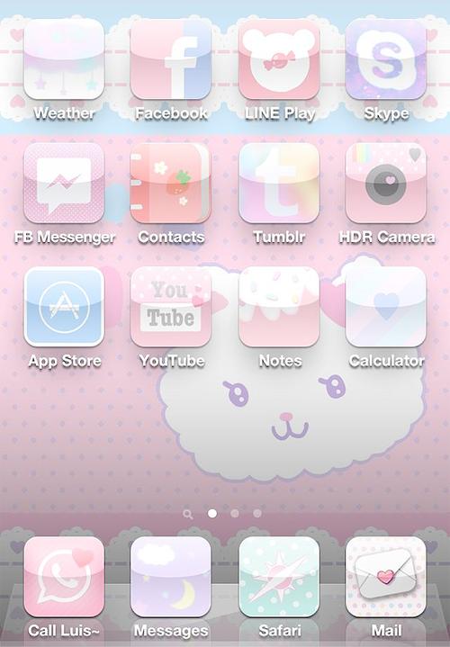 Aesthetic Cute App Store Icon Pastel | aesthetic tumblr