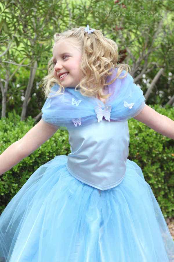 DIY Cinderella Ball Gown Dress Tutorial at kiki and company.Sweet ...