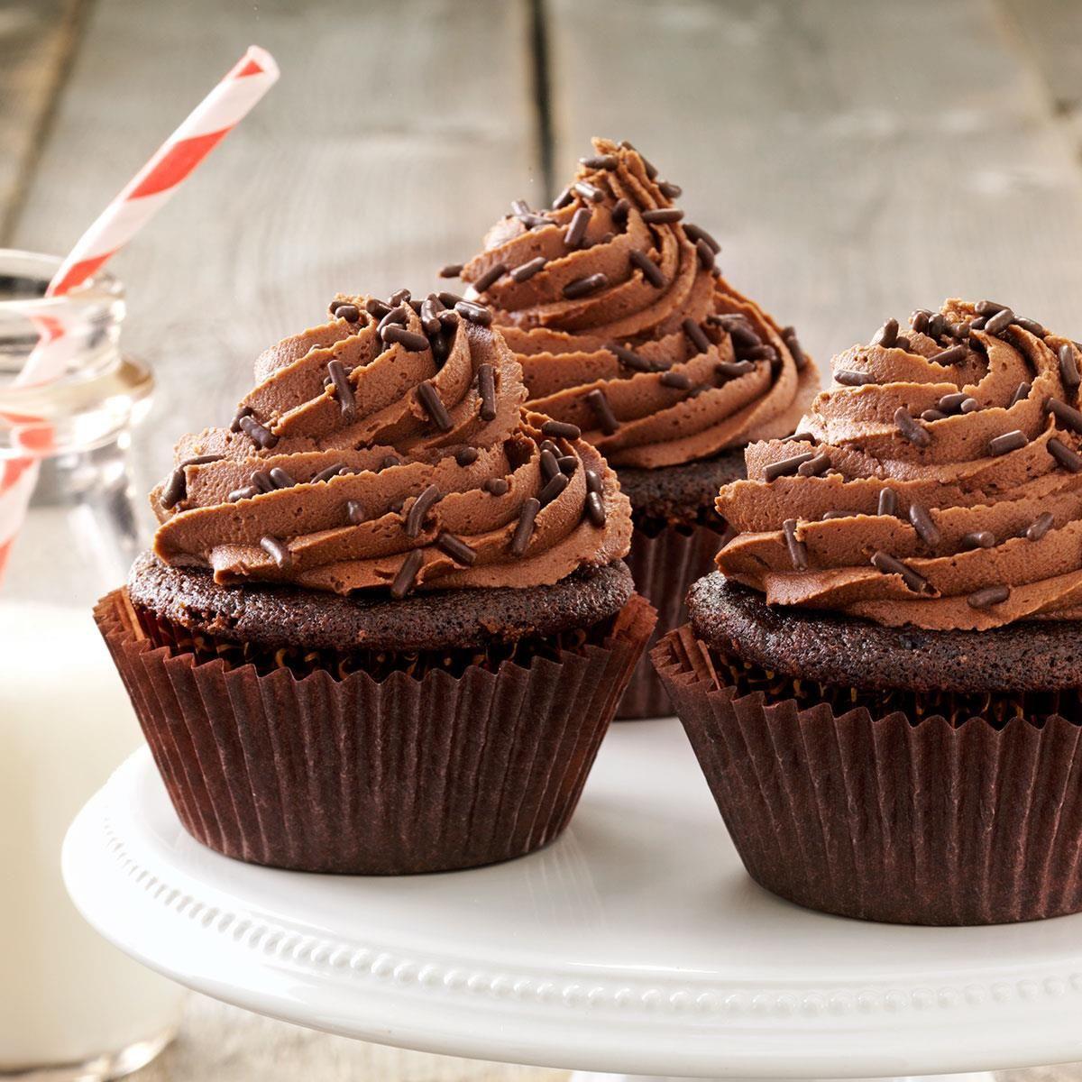 easy yummy chocolate cupcakes