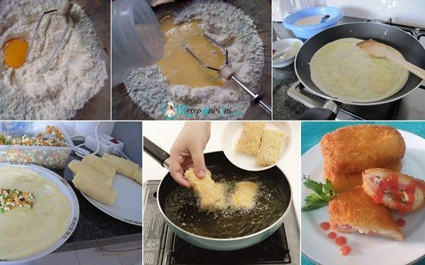 2 Cara Membuat Kulit Risoles Lembut Anti Gagal Anti Sobek Dan Resep Kulit Risoles Agar Tidak Pecah Serta Proses Pembuatan Kulit Ri Resep Piring Datar Makanan