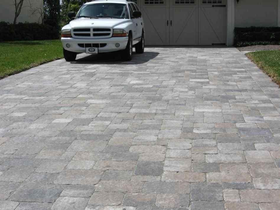 Paver Driveway Ideas Rhbwncycom Brick Pavers Vs Concrete Cost Per