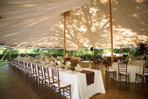 banquet and round tables under sailcloth tent & banquet and round tables under sailcloth tent | Wedding tent set ...