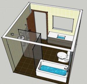 Bathroom Plan 3d Google Search 3d Bathroom Design Bathroom