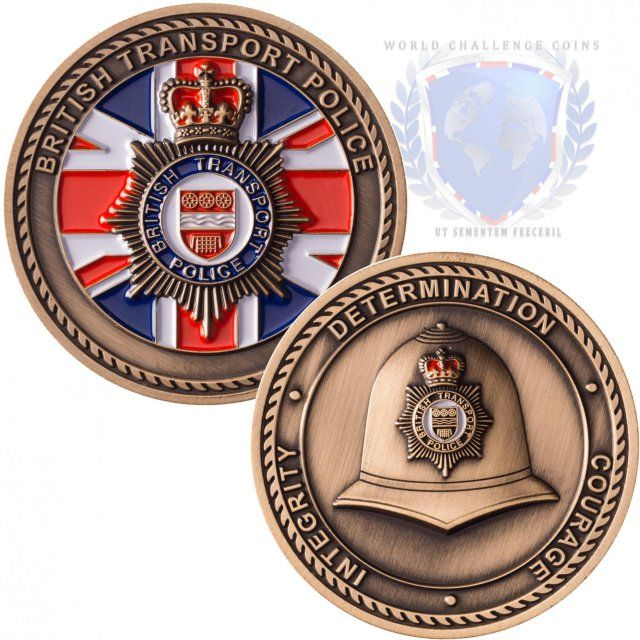 A British Transport Police Custom Coin From Www