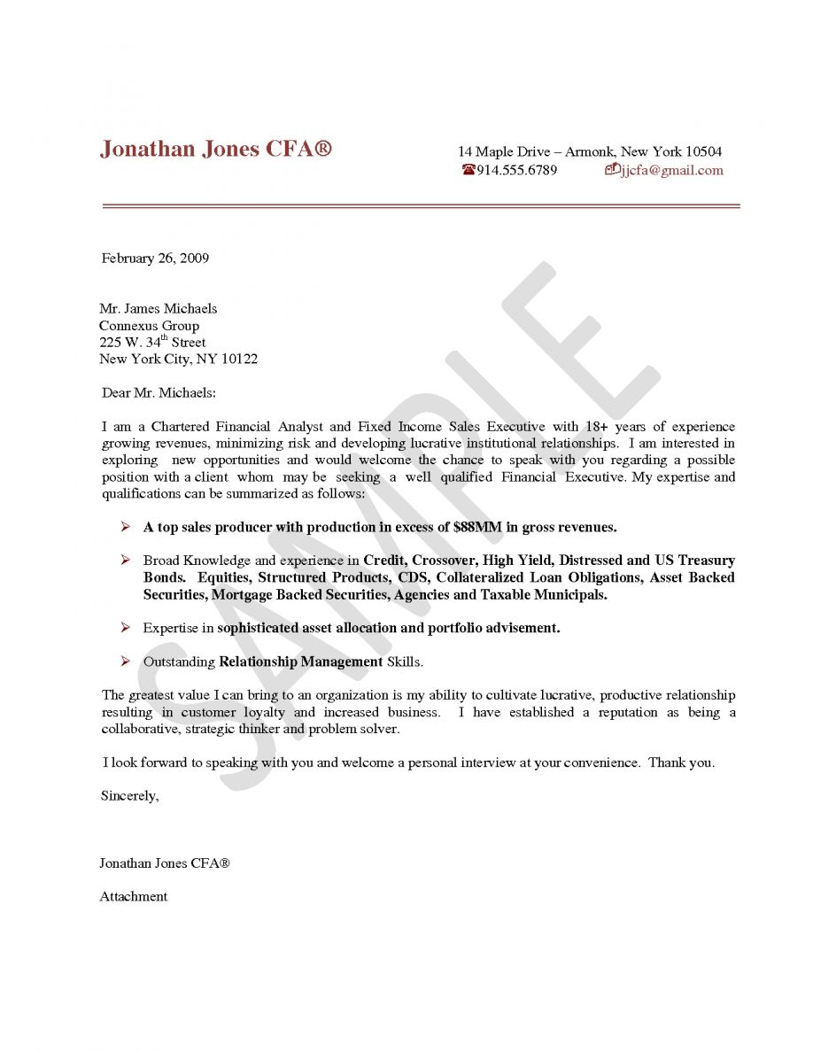 Finance Internship Cover Letter Template Business Analyst Home