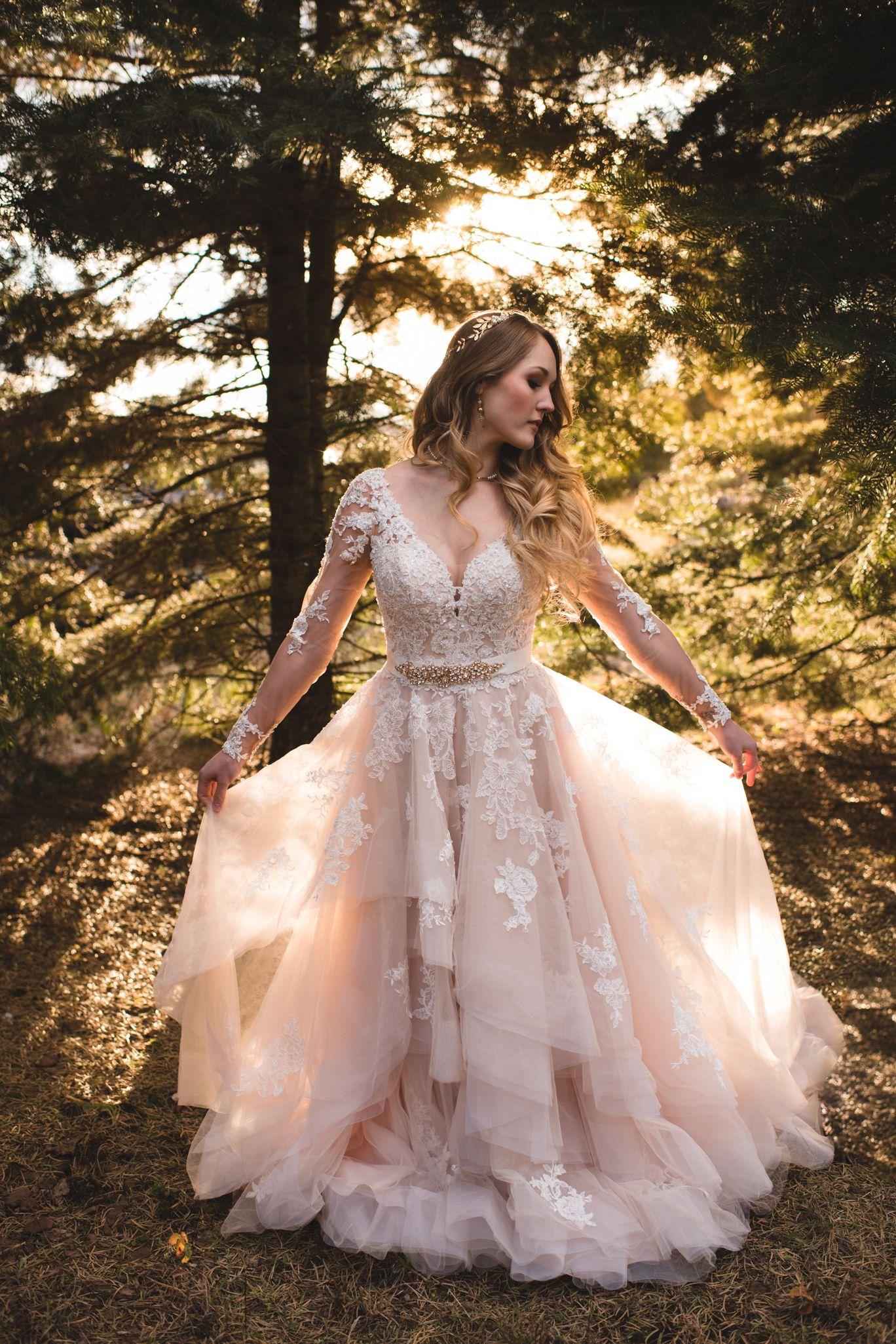 Loralee Jonathan Winterberry Tree Farm Wedding Inspiration Julie Floro Photography Essense Of Australia Dress