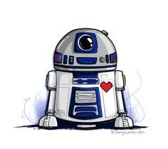 Image Result For R2d2 Drawing Star Wars Karikatur Star Wars Zeichnungen Star Wars Hintergrundbild