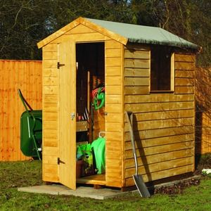 Wickes Premium Overlap Apex Shed Product Code 218155 Width 1330 Mm Height 2020 Mm Apex Shed Shed Garden Inspiration