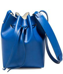 SCHONEBERG: BREMA MAXI BUCKET BAG COLOR BLUE | Playground Shop