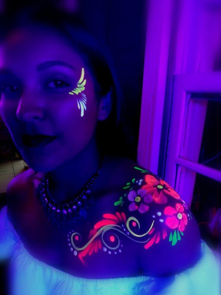 NEÓN PARTY maquillaje neon fiesta Pinterest Neon, Neon party