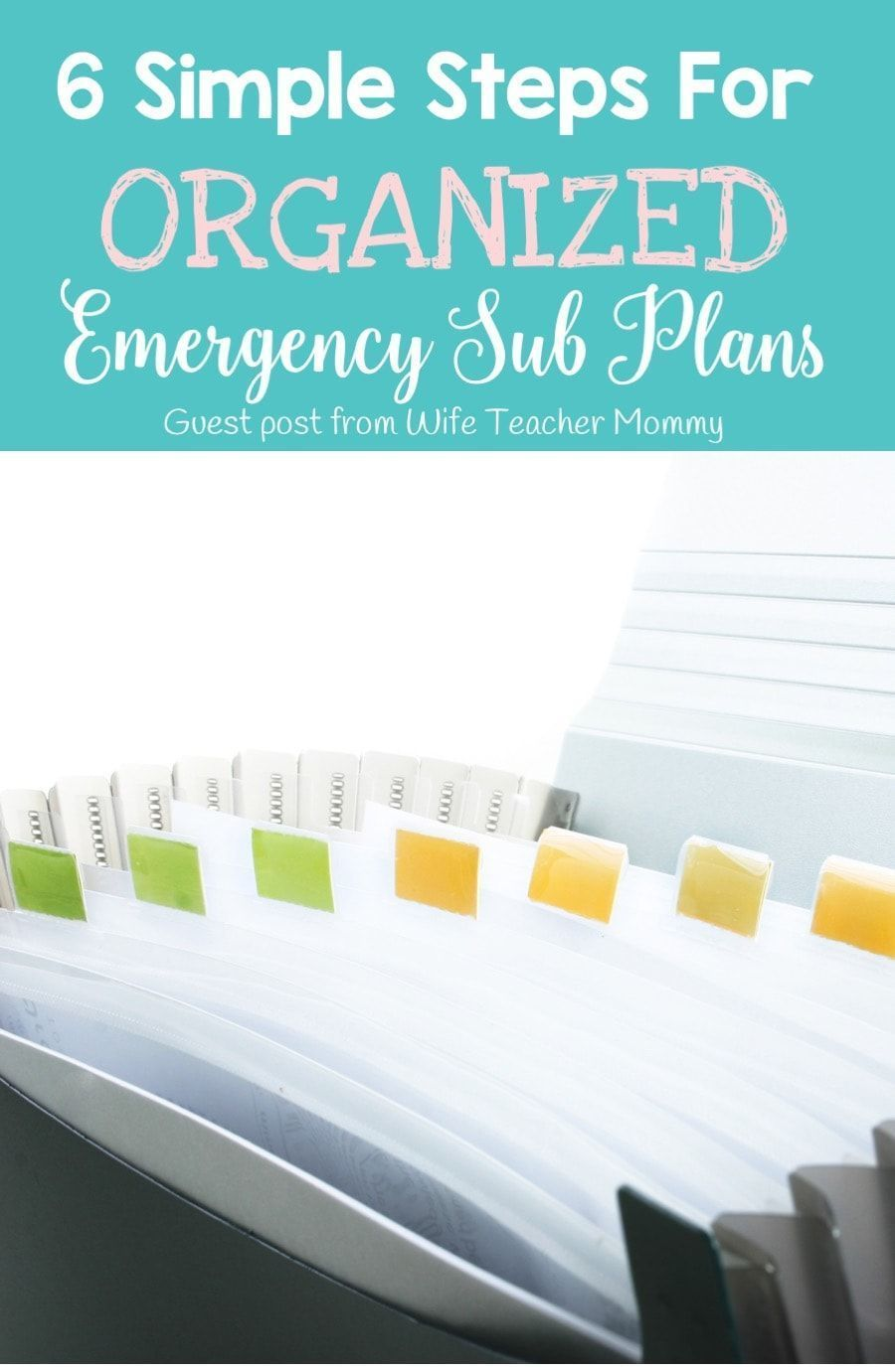Six Simple Steps for Organized Emergency Sub Plans #emergencysubplans How well organized are your emergency sub plans?  Learn six simple steps to create organized emergency sub plans for your classroom. via @whatilearned #emergencysubplans Six Simple Steps for Organized Emergency Sub Plans #emergencysubplans How well organized are your emergency sub plans?  Learn six simple steps to create organized emergency sub plans for your classroom. via @whatilearned #emergencysubplans Six Simple Steps for #emergencysubplans