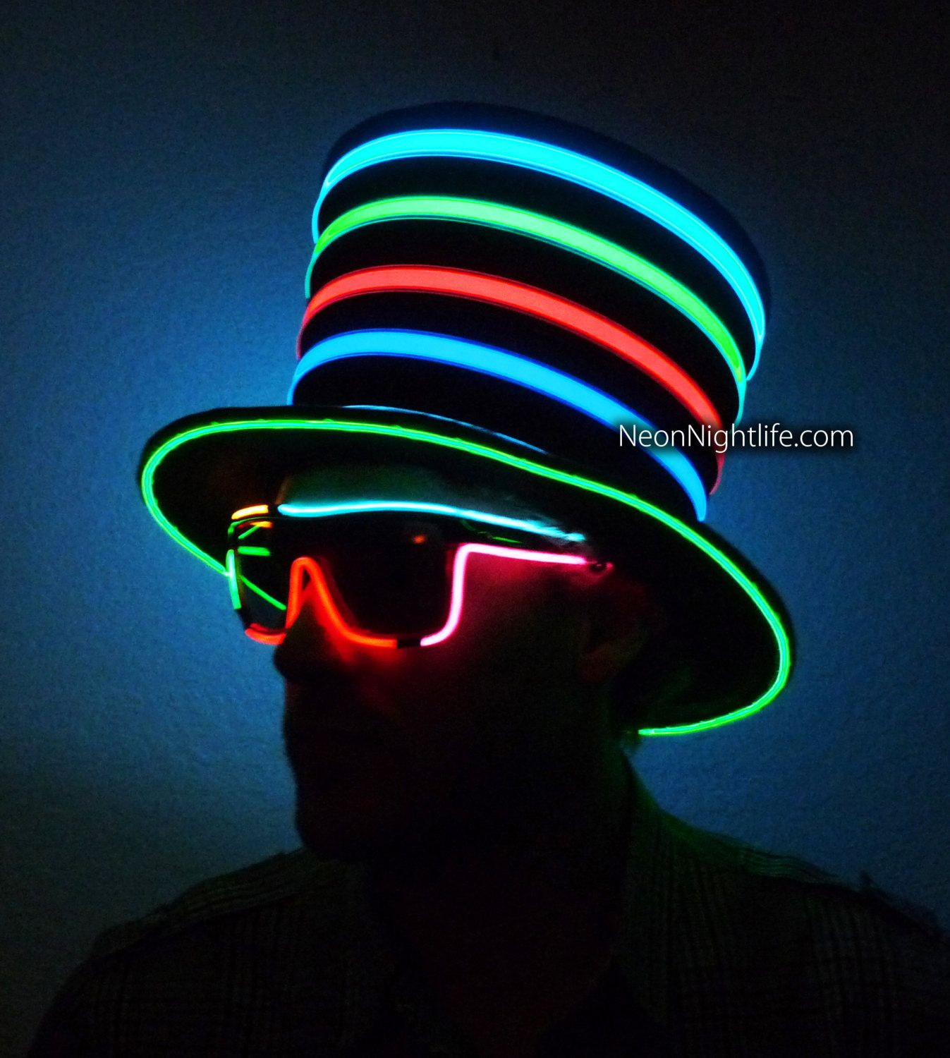 0968c2b496dba Pin by Neon Night Life on Glowing Hat in 2019
