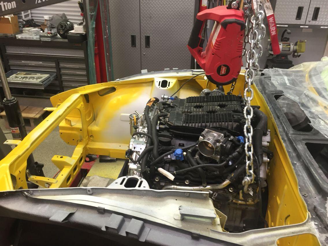 NISMO VQ37VHR motor Datsun Z swap | My Datsun Z build and