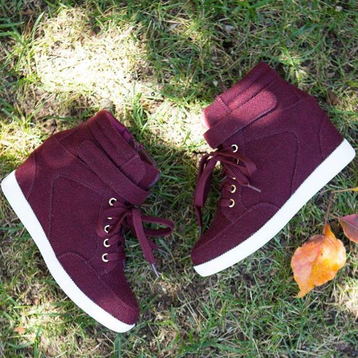 Brenda' Fashion Wedge Sneakers