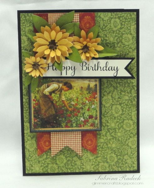Simple French Country Birthday Card Cards Pinterest Country