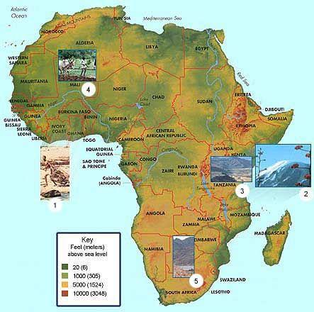 Africa :: A Homeschool Unit Study | Elijah geography ...