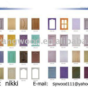 Thermal Foil Kitchen Cabinet Doors