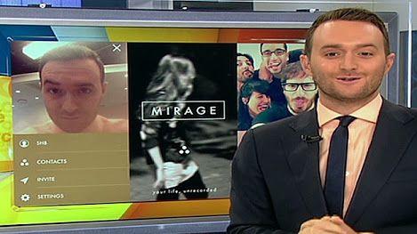 Mirage, una app para grabar un videomensaje que se esfuma (July 2014)