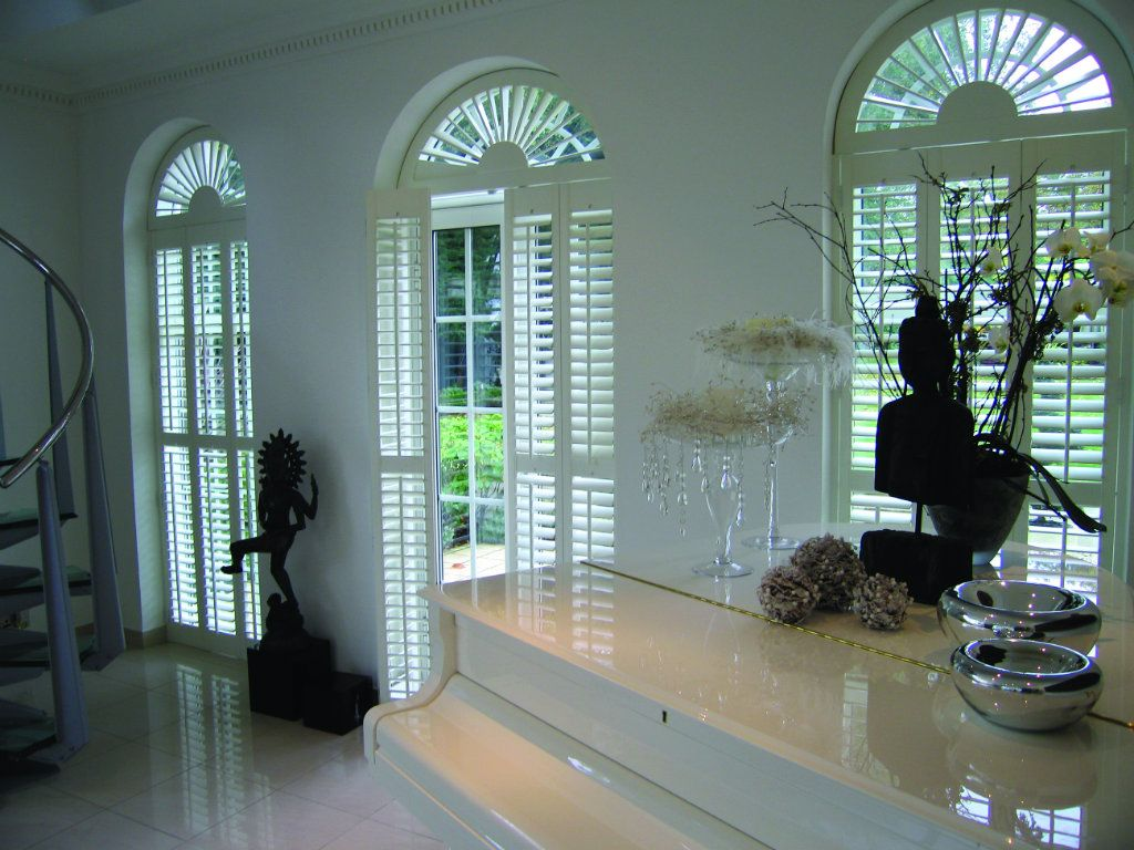 As you'd expect, with bespoke products like shutters