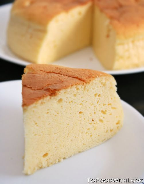 To Food with Love: Not Another Japanese Cheesecake!