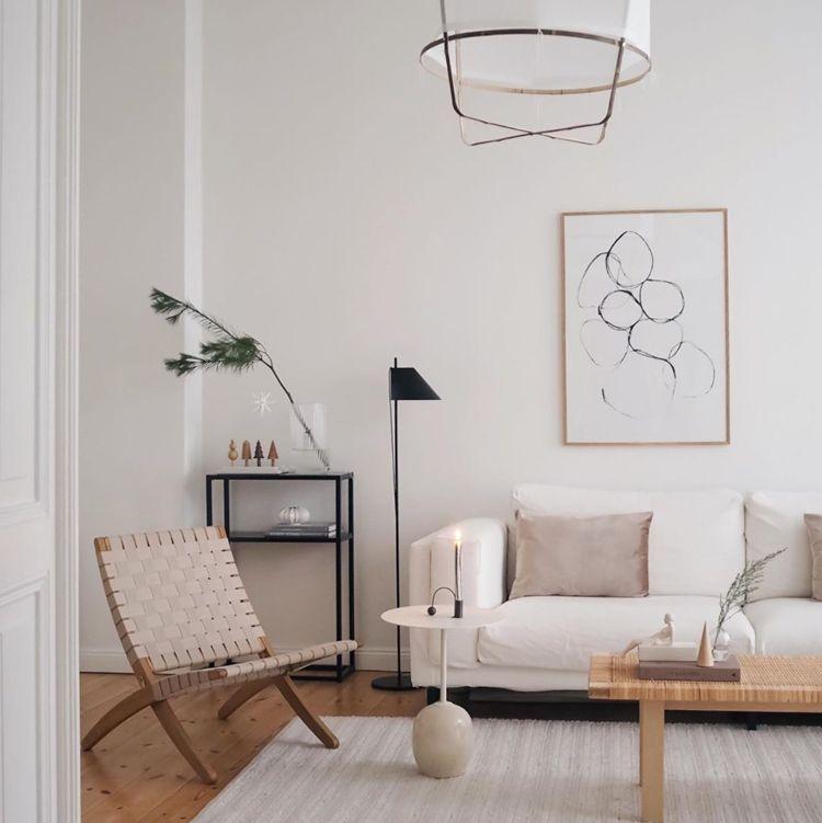Yuh Floor Lamp In 2020 Natural Living Room Living Room Diy My Scandinavian Home