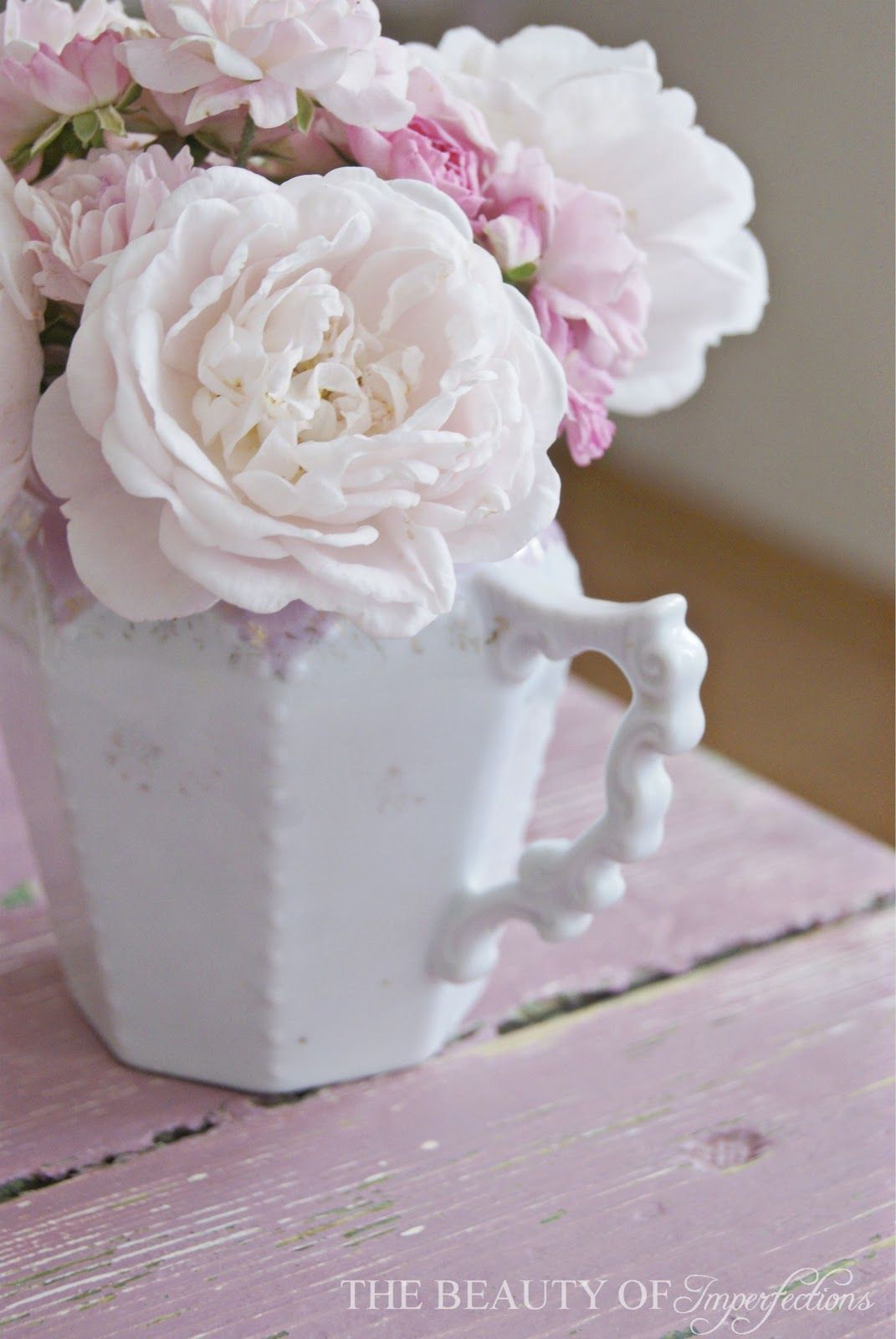New post on Magical imperfections and pretty treasures: Treasures Roses